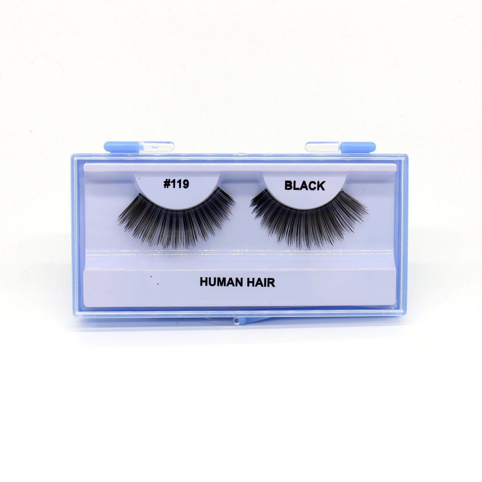 Blue Case Eyelash, #119 (6PC)