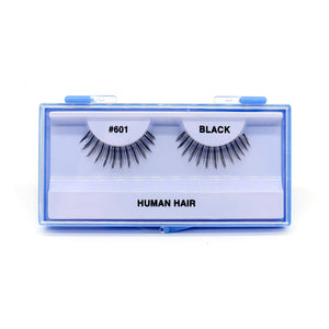 Blue Case Eyelash, #601 (6PC)