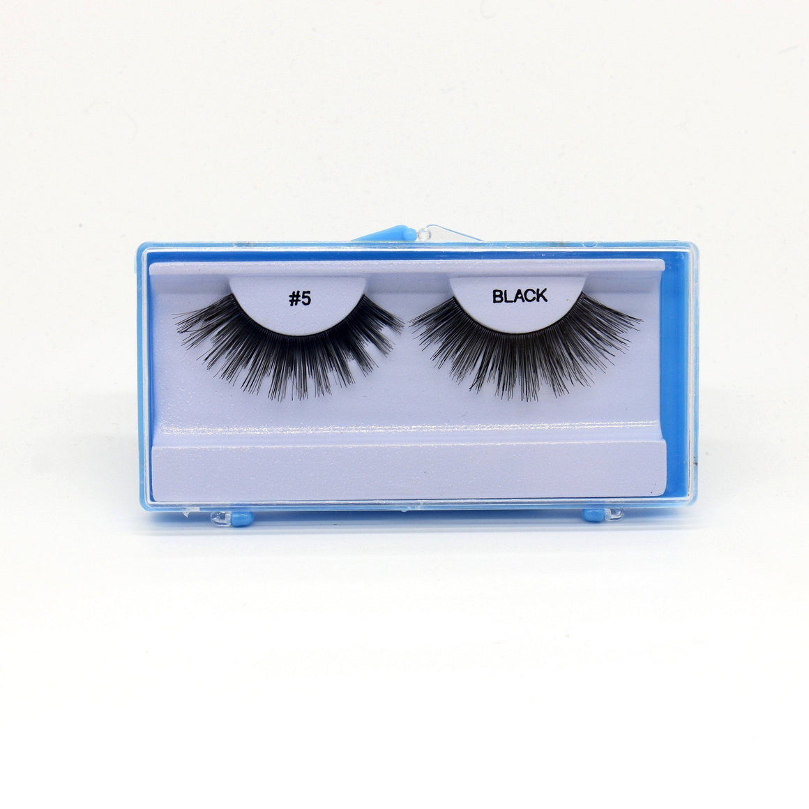 Blue Case Eyelash, #5 (6PC)