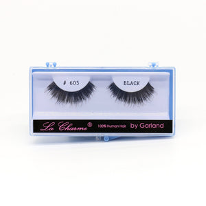 Blue Case Eyelash, #605 (6PC)
