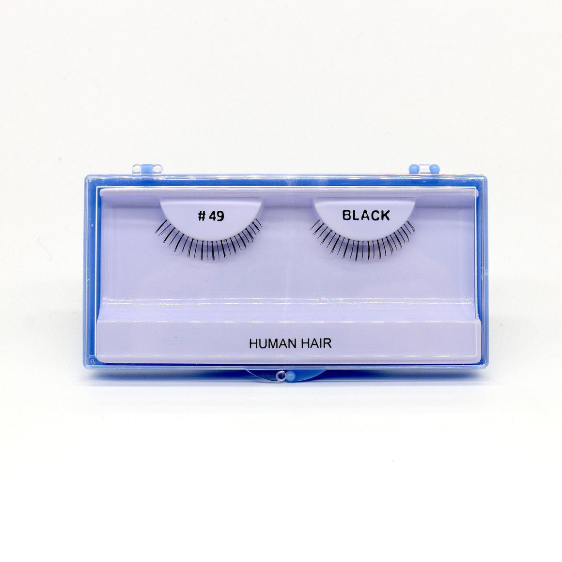 Blue Case Eyelash, #49 (6PC)