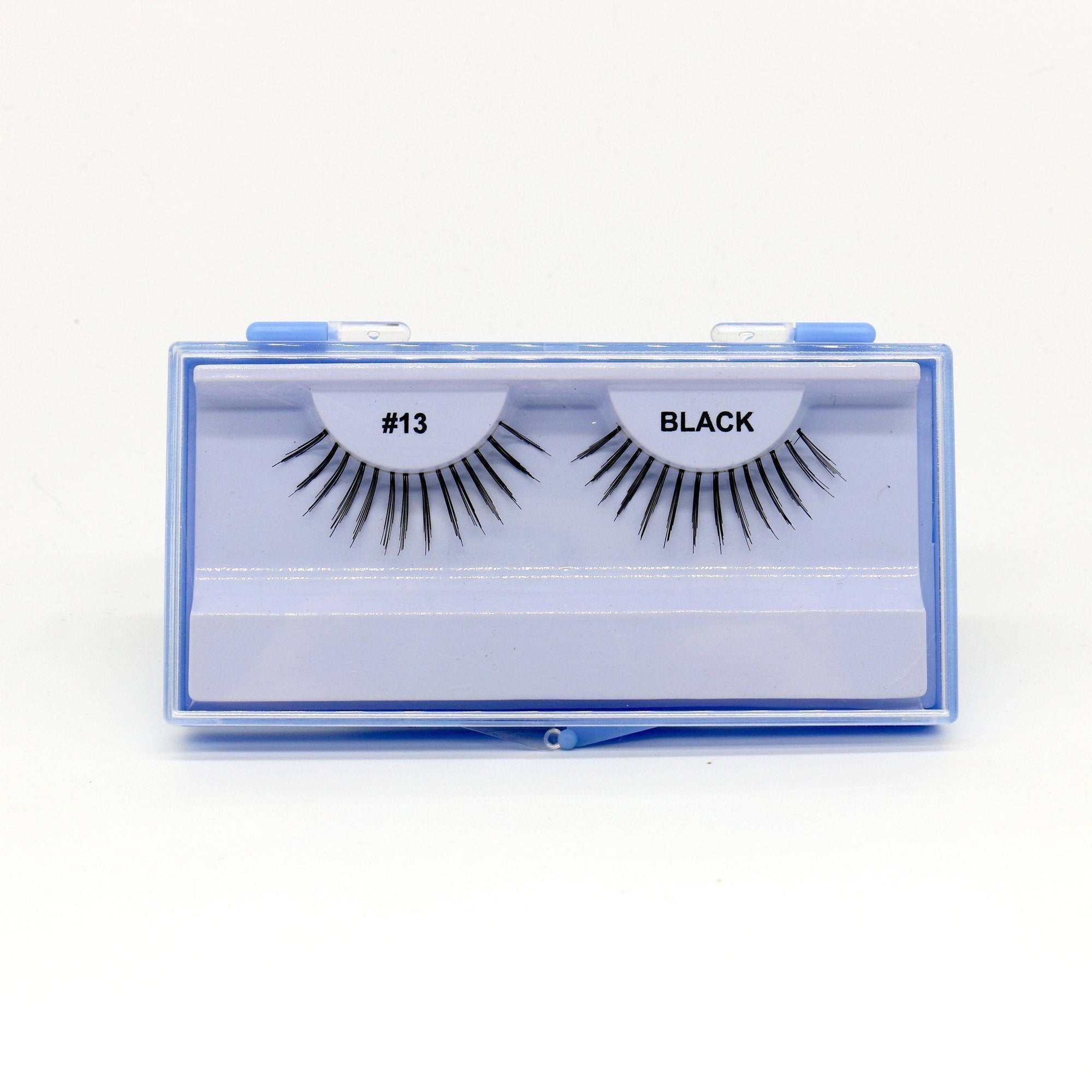 Blue Case Eyelash, #13 (6PC)