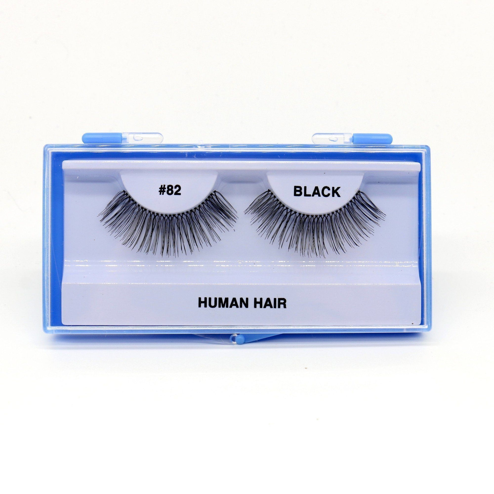 Blue Case Eyelash, #82 (6PC)