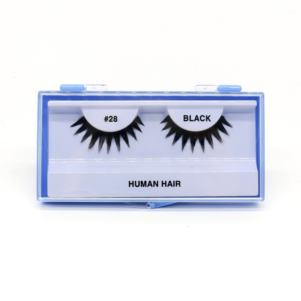 Blue Case Eyelash, #28 (6PC)
