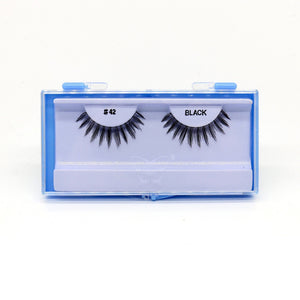Blue Case Eyelash, #42 (6PC)