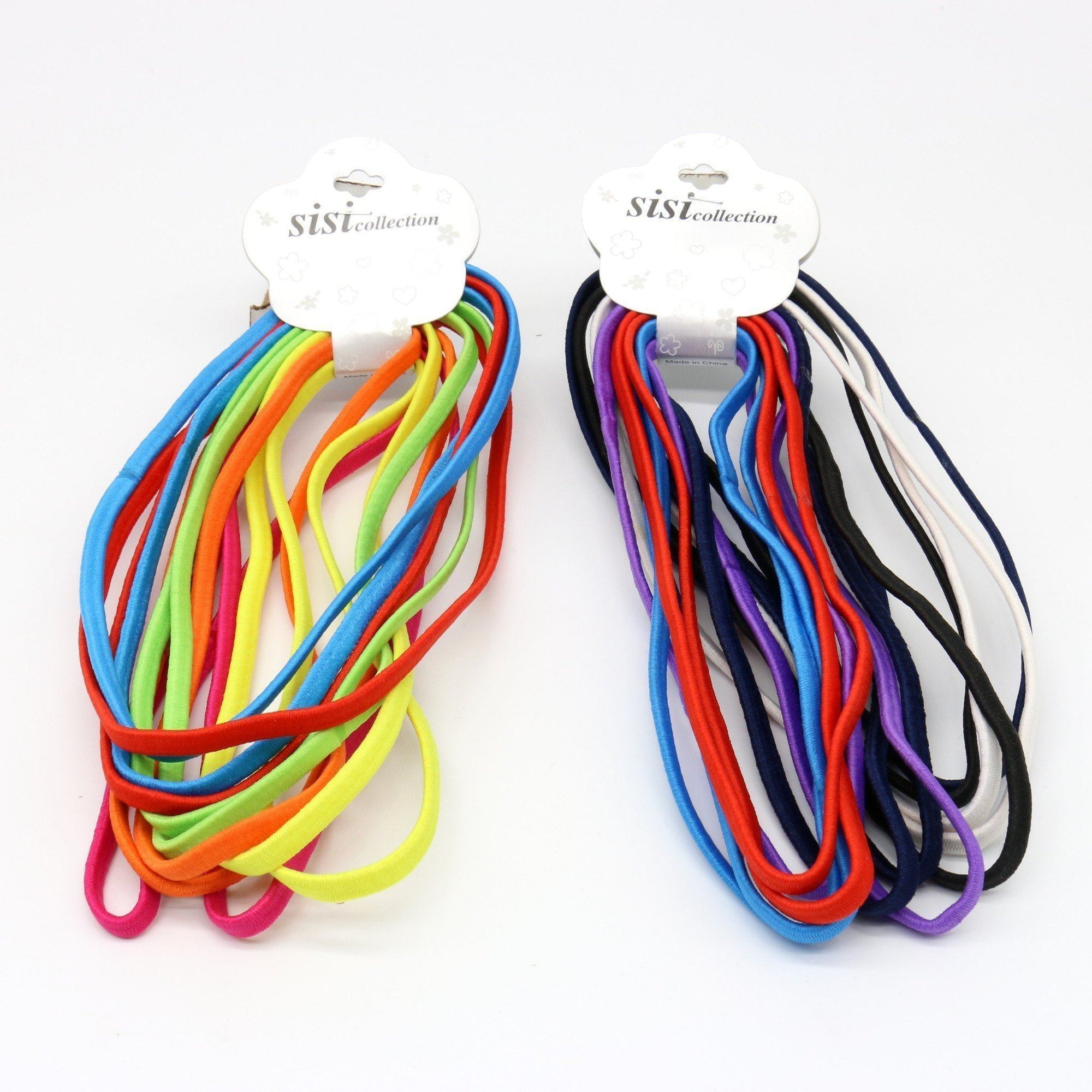 #EPT362A Assort Elastic Head Band (12PC)