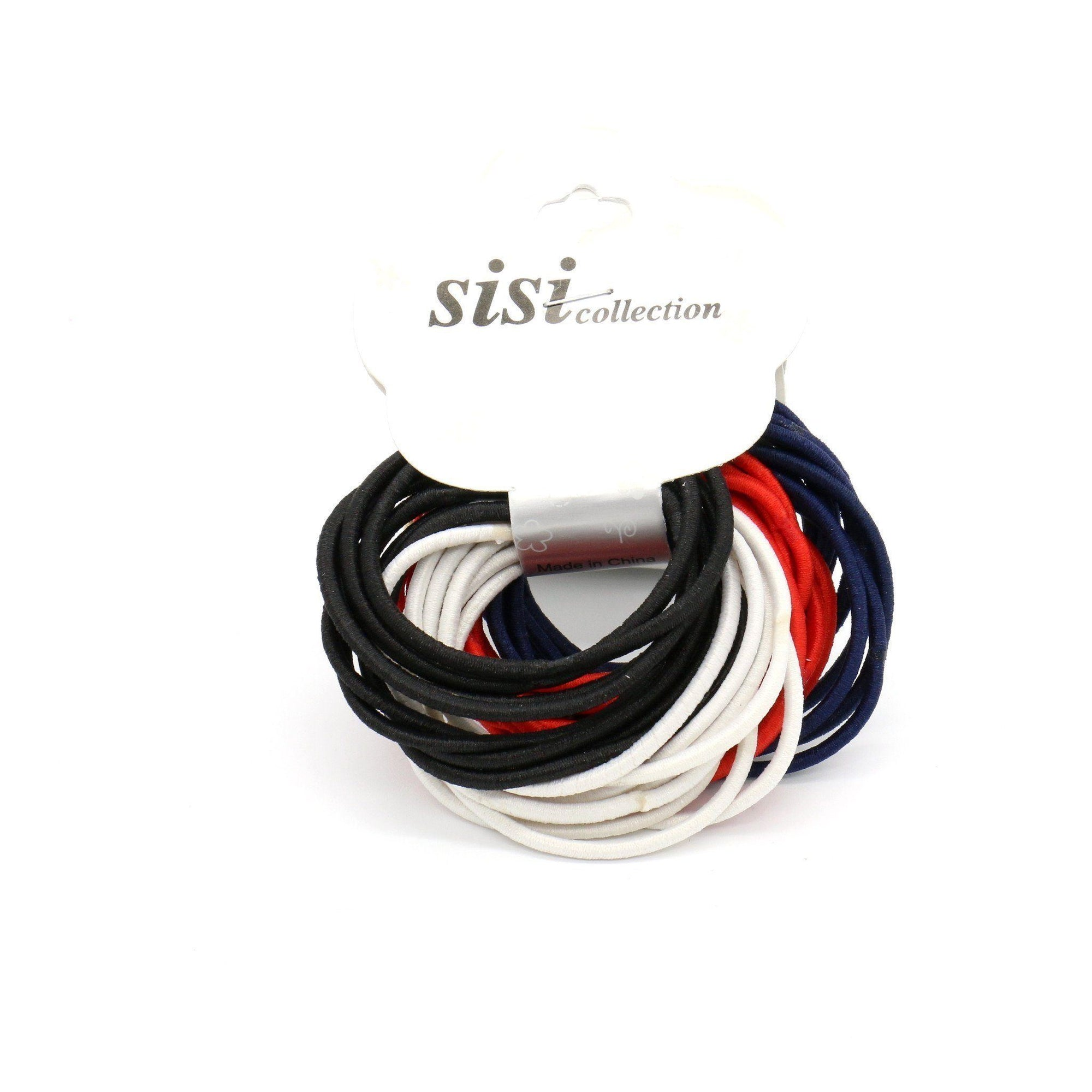 #EPT359C Thin Tommy Color Elastic Bands (12PC)