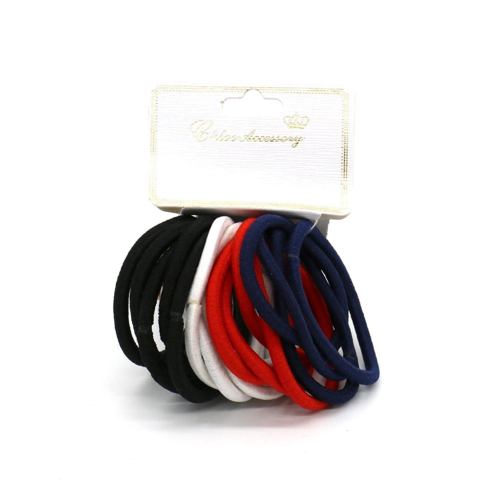 #EPT328C Thick Tommy Color Elastic Bands (12PC)