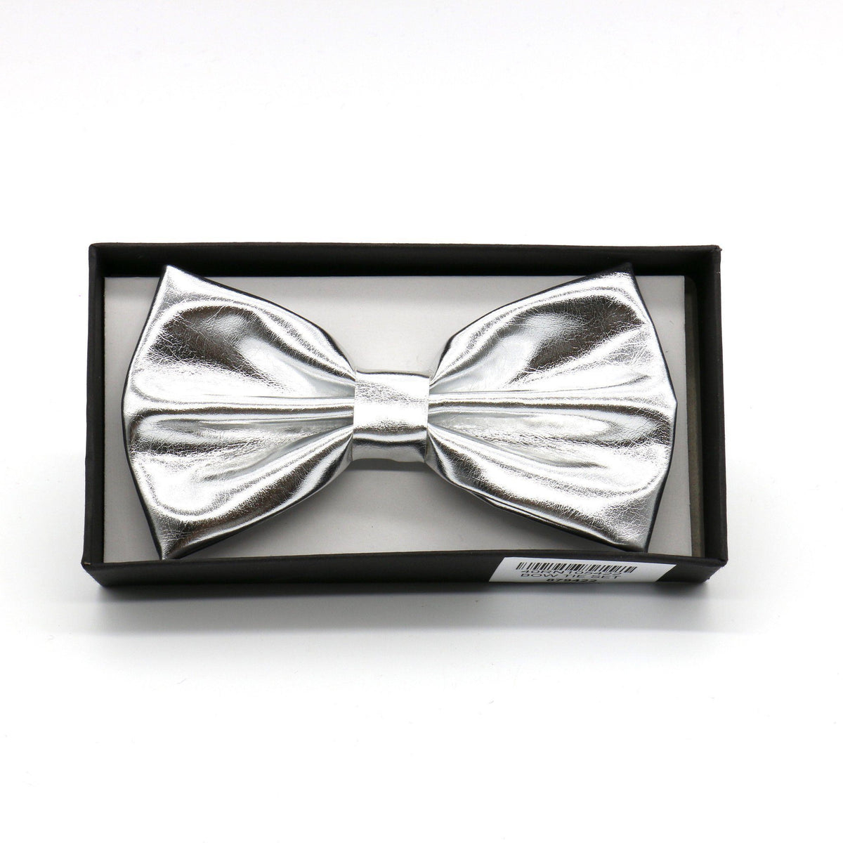 Metallic Silver Bow Tie (PC)