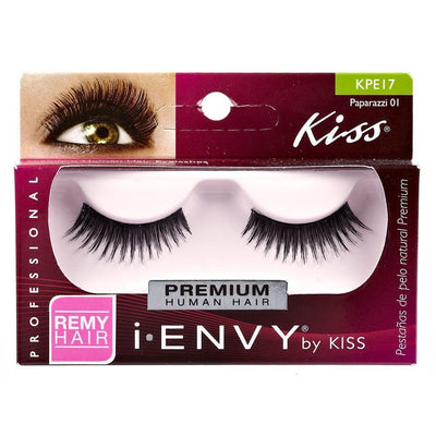 #Kpe17 Full Strip Paparazzi 01 Eyelashes (6Pk)
