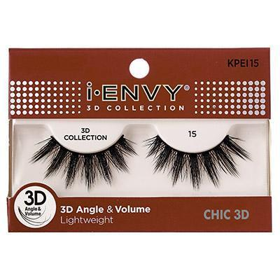 iEnvy Chic 3D Angle & Volume Eyelashes #KPEI15 (6PC)