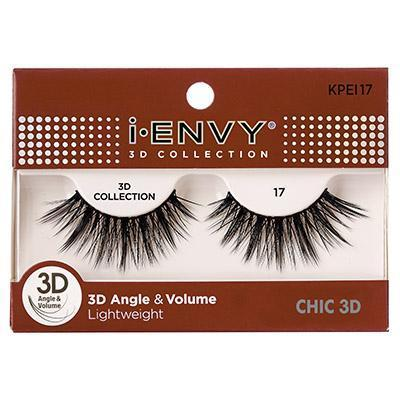 iEnvy Chic 3D Angle & Volume Eyelashes #KPEI17 (6PC)