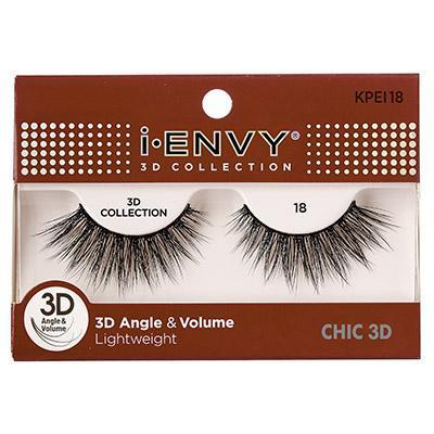 iEnvy Chic 3D Angle & Volume Eyelashes #KPEI18 (6PC)