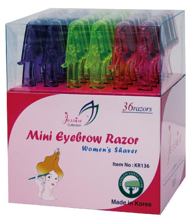 #Kr136 Eden Mini Eyebrow Razor Set (36Pc)