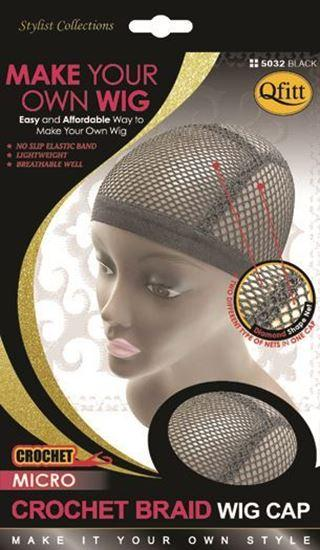 #5032 Micro Crochet Braid Wig Cap