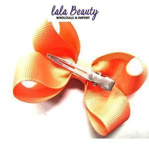 Mini Hair Bow #QHC2390PE Peach (2 Dozen)