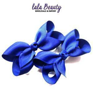 Mini Hair Bow #QHC2390RB Royal Blue (2 Dozen)