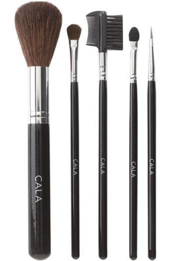 Cala 5pc Large Cosmetic Brush Kit #76523