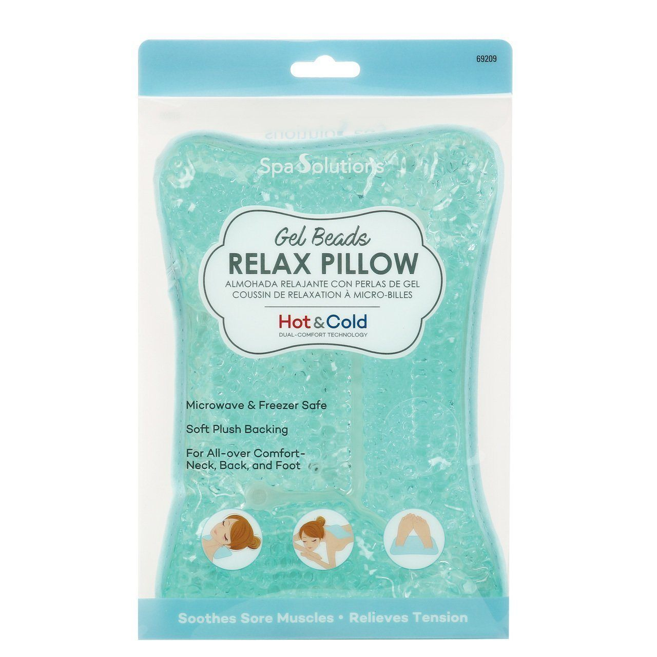 Cala Gel Beads Relax Pillow #69209