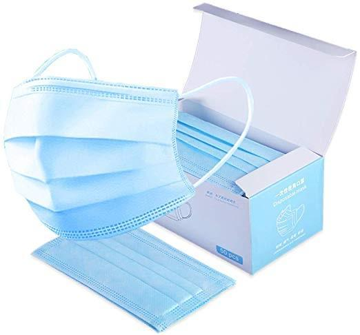Surgical Respirator Disposable Face Masks (50PC)