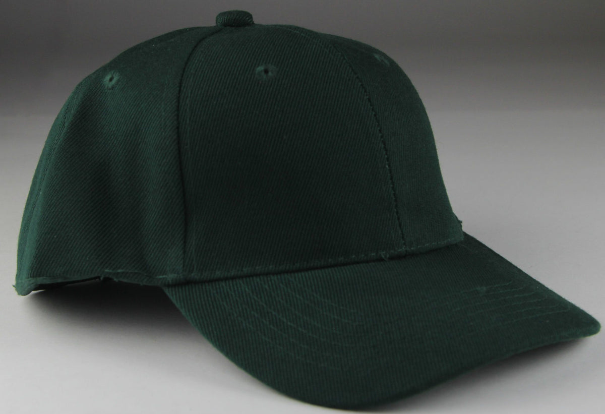 Velcro Baseball Hat Green (Pc)