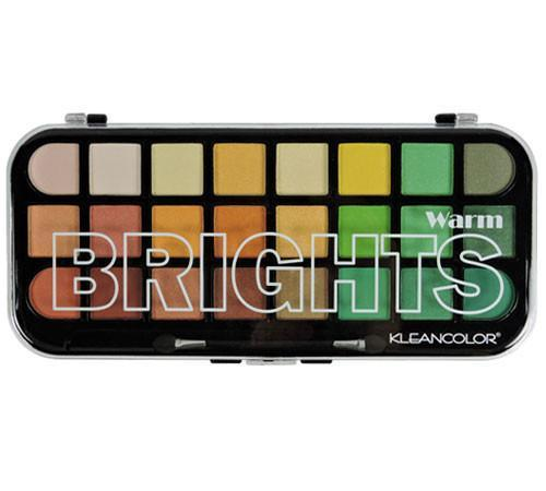 Kleancolor Warm Brights Palette (6PC)