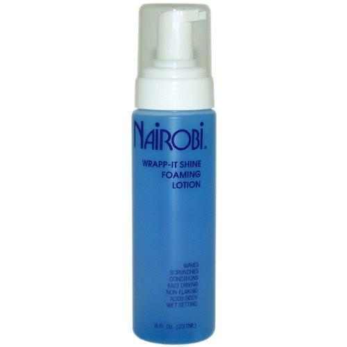 Nairobi Wrapp-It Shine Foaming Lotion, 8oz