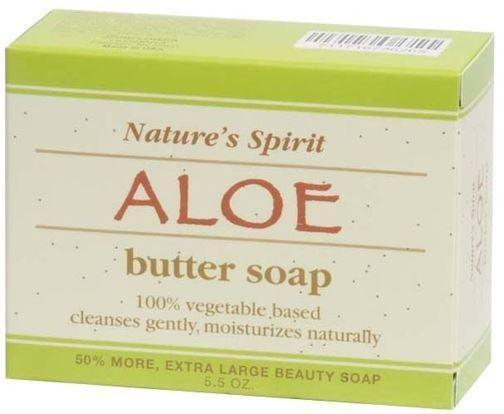 Nature's Spirit Aloe Butter Soap 5oz (6PC)