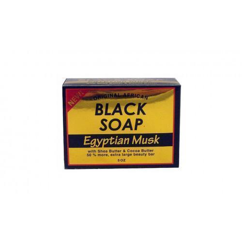 Original African Black Soap (6Pc)