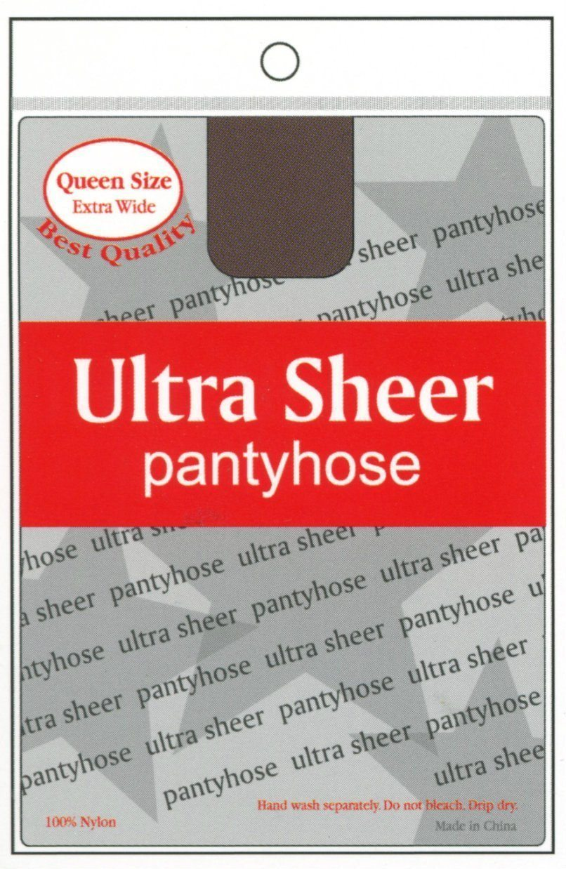 Annie Ultra Sheer Pantyhose - Queen Size (6PK)