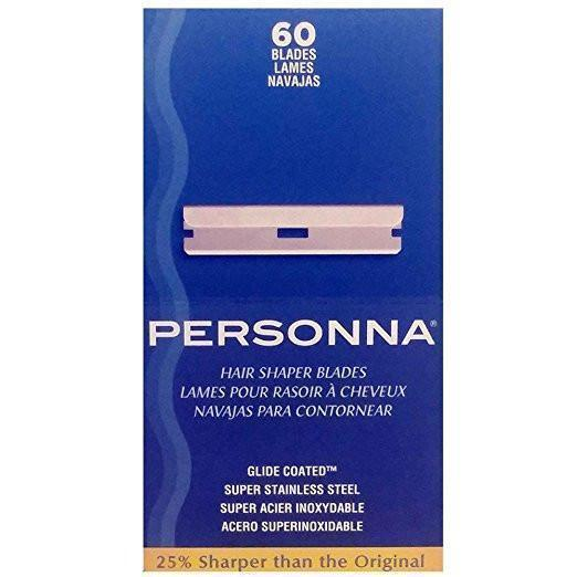 Personna Hair Shaper Blades (60 Count)