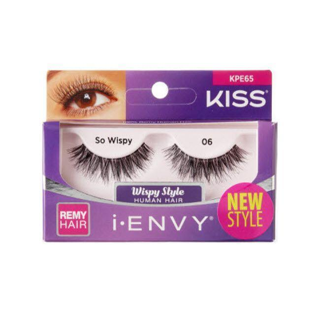 #Kpe65 Kiss So Wispy 06 Eyelashes (6Pk)
