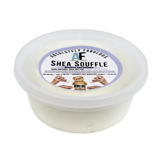 Shea Souffle Whipped And Creamy 100% Natural Shea Butter 8oz