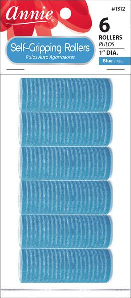 #1312 Annie Self-Gripping Rollers / Blue