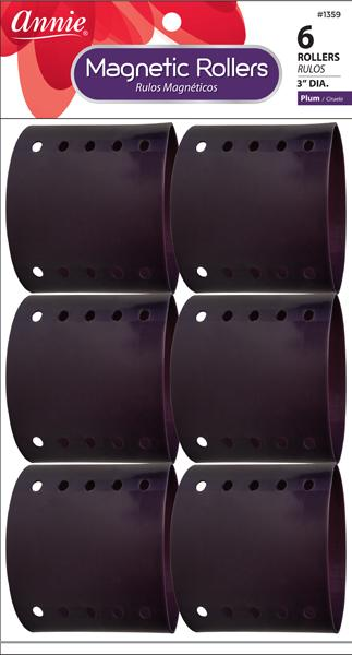 #1359 Annie Magnetic Rollers / Plum