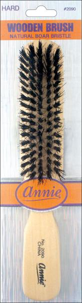#2090 Annie Hard Wooden Brush