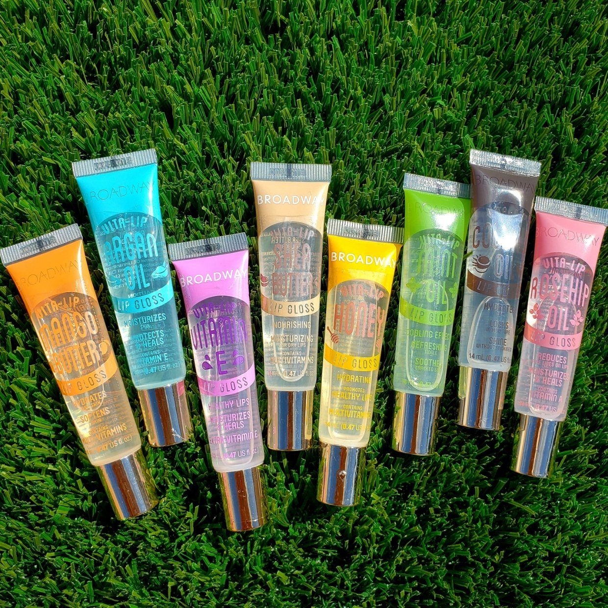 Broadway Lipgloss Multipack 1 of Each Flavor (8PC)