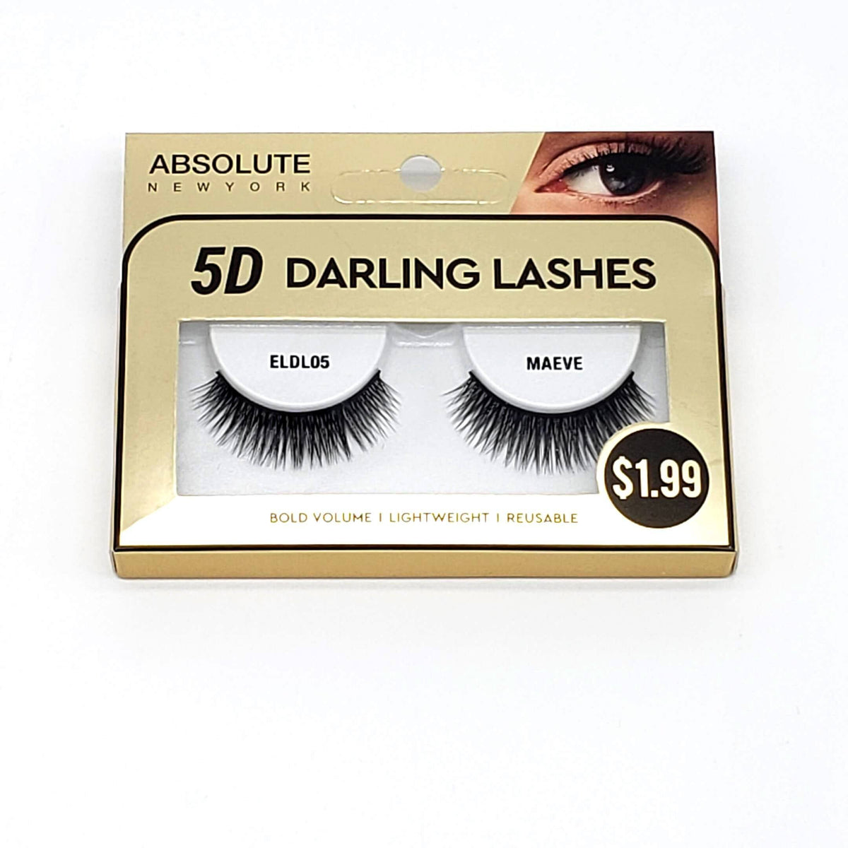 Absolute 5D Darling Lash #ELDL05 Maeve (6PC)