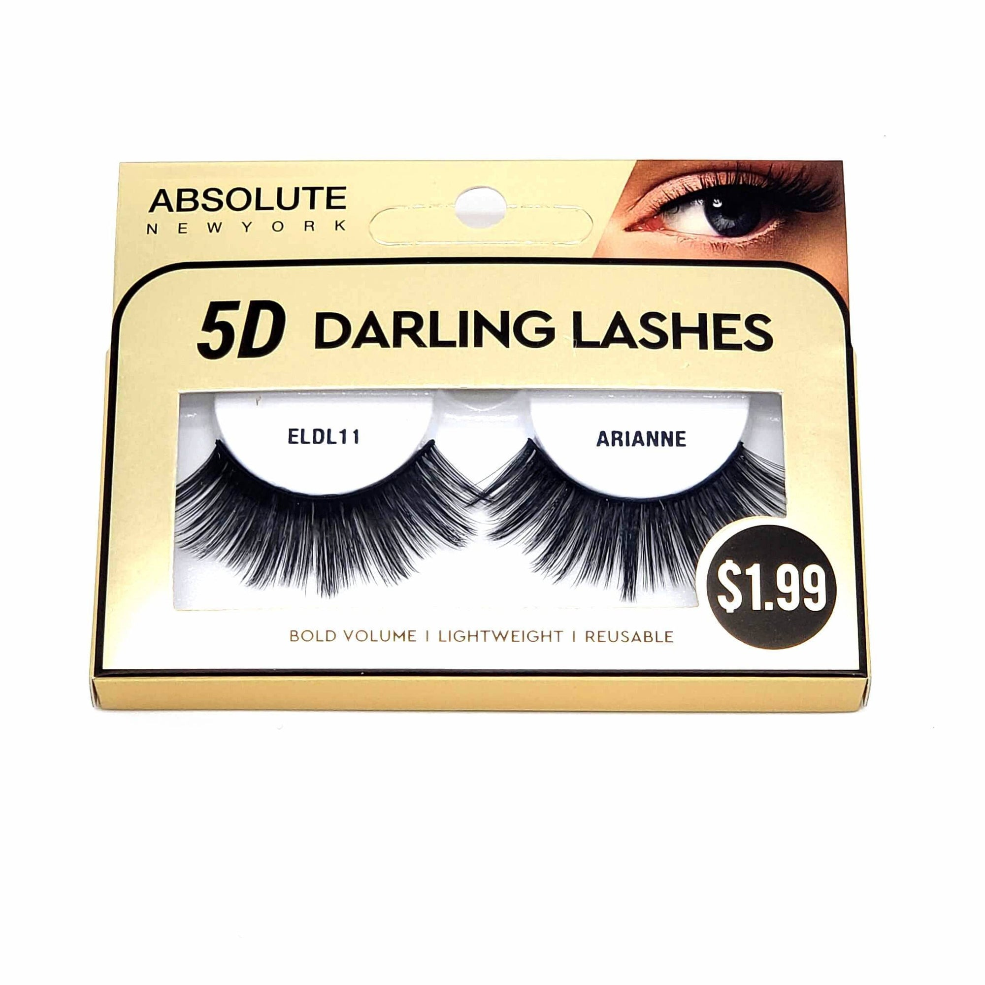 Absolute 5D Darling Lash #ELDL11 Arianne (6PC)