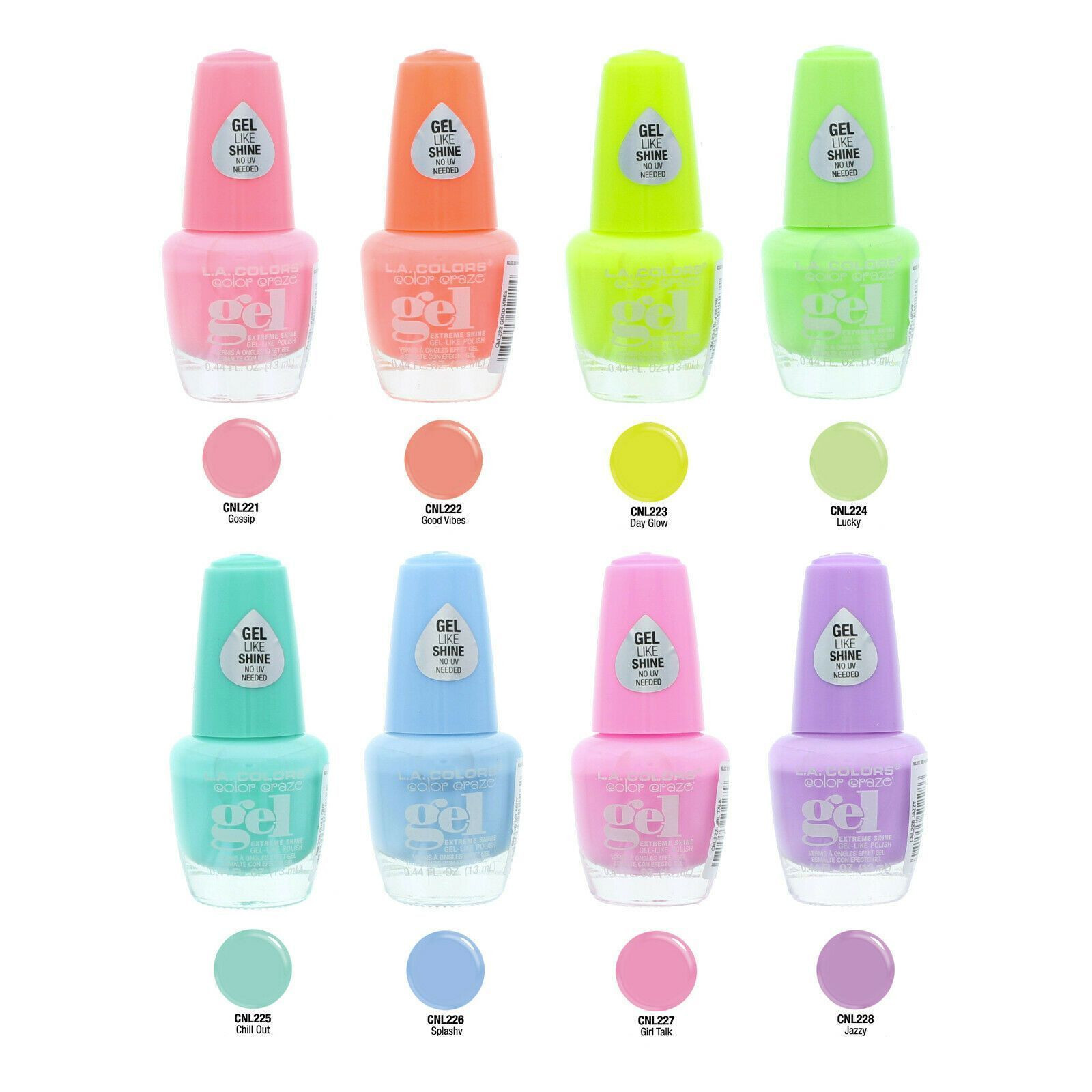 LA COLORS Creamy Neon Nail Polish #CNL