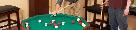 Bumper Pool Tables by Hathaway