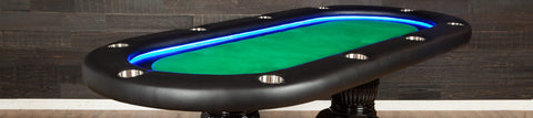 Oval Poker Tables