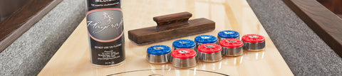 Shuffleboard Table Accessories