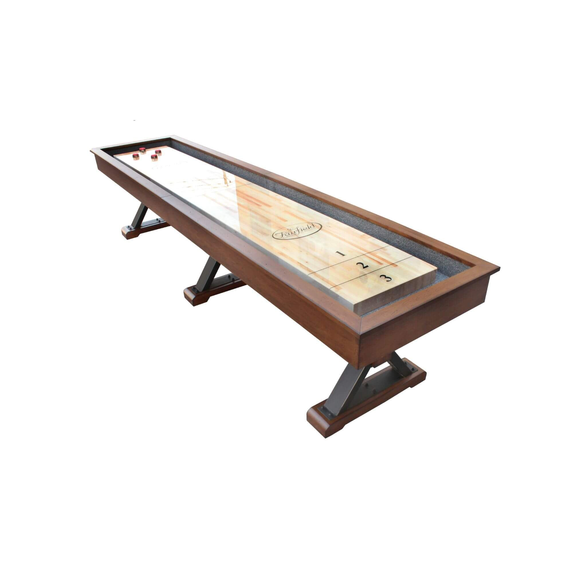 Playcraft Santa Fe Pro-Style Shuffleboard Table - Gaming Blaze