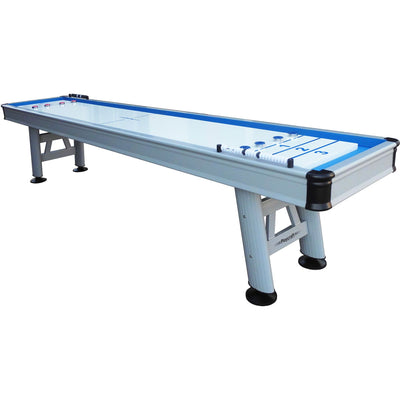 Playcraft Extera Outdoor Shuffleboard Table with Playing Accessories - Gaming Blaze
