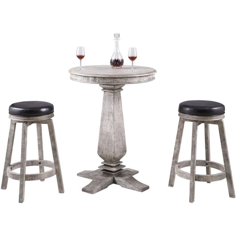 Hathaway Montecito 3 Piece Pub Table Set - Game Tables