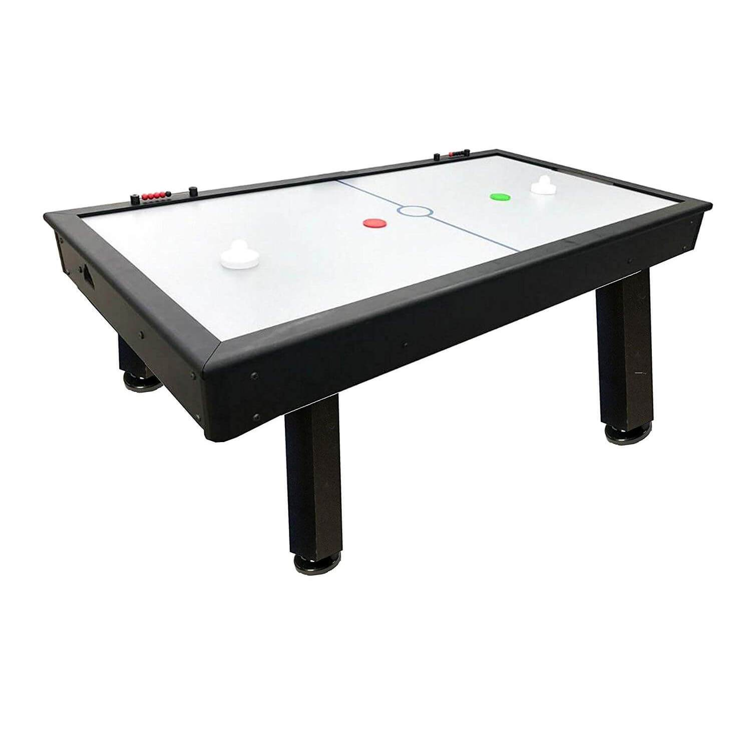 "Performance Games Tradewind R1 Black 88"" Air Hockey Table - Gaming Blaze"