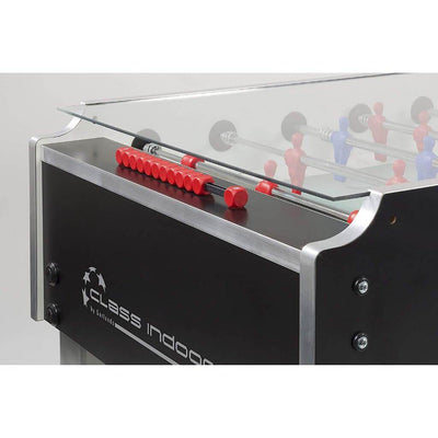 Garlando Class Foosball Table with Glass Top - Gaming Blaze