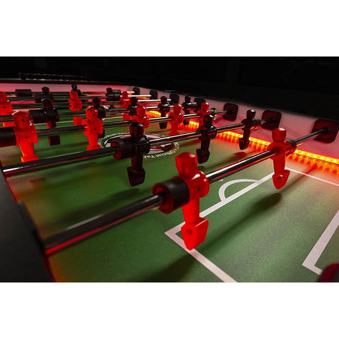 "Warrior Table Soccer Force 4 Professional LED Foosball Table 56"" - Game Tables"