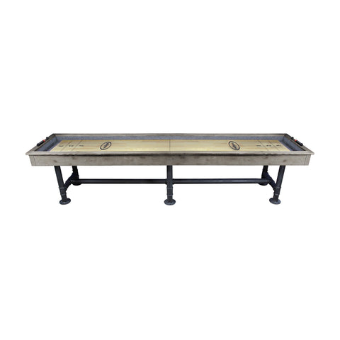 Imperial Bedford Grey Industrial 12ft Shuffleboard Table - Game Tables